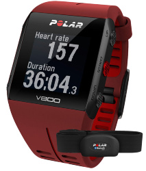 Polar V800 Red HR Combo