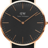 Daniel Wellington Classic Black Cornwall DW00100148