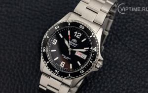 Обзор наручных часов Orient Mako 2 FAA02001B9