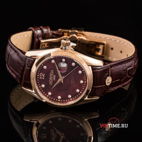 Женские часы Roamer 203.844.49.69.02 Мужские часы Edox 10302-3MBUIN